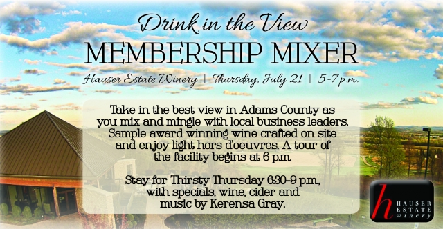 Join Hauser Estate Winery for the next after hours Membership Mixer.