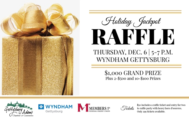 Click here to buy your lucky winning ticket for the Dec. 6 event